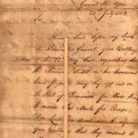 Dispatch of July 28th 1813 No.3