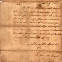 Dispatch of July 28th 1813 No.1